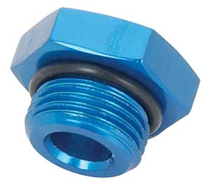 JEGS Performance Products 100353 - JEGS AN Straight Thread Port Plugs
