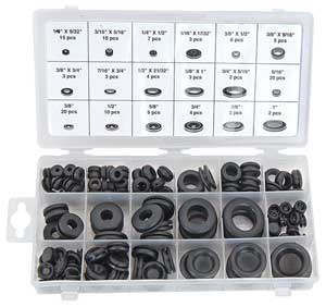 JEGS Performance Products 10365 - JEGS Rubber Grommet Assortment Kit