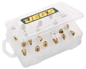 JEGS Performance Products 15021 - JEGS Holley� Jet Kit with Case