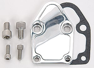 JEGS Performance Products 50504 - JEGS Billet Fuel Pump Block-Off Plates