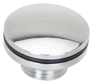 JEGS Performance Products 50590 - JEGS Billet Oil Fill Cap for Late GM