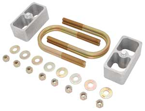 JEGS Performance Products 60801 - JEGS Rear Leaf Spring Drop/Lift Block Kits