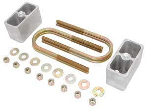 JEGS Performance Products 60802 - JEGS Rear Leaf Spring Drop/Lift Block Kits