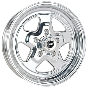 JEGS Performance Products 67051 - JEGS Sport Star Cast Aluminum Wheels