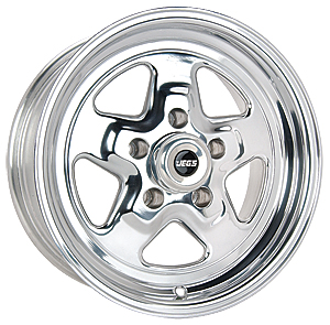 JEGS Performance Products 67062 - JEGS Sport Star Cast Aluminum Wheels