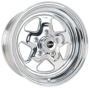 JEGS Performance Products 67072 - JEGS Sport Star Cast Aluminum Wheels