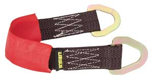 JEGS Performance Products 80124 - JEGS Axle Straps