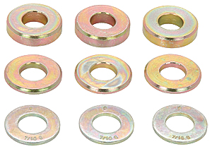 JEGS Performance Products 82505 - JEGS Mid-Plate Shim Kit