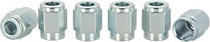 JEGS Performance Products 100385 - JEGS Hard-Line AN Steel Tube Nuts & Sleeves