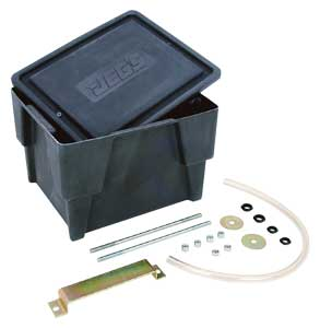JEGS Performance Products 10230 - JEGS Sealed Battery Box with Vent