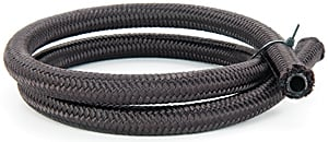 JEGS Performance Products 110912 - JEGS Pro-Flo 350 Series Nylon Black Braided Hose