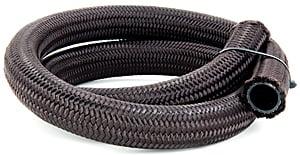 JEGS Performance Products 110940 - JEGS Pro-Flo 350 Series Nylon Black Braided Hose