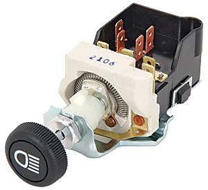 JEGS Performance Products 11110 - JEGS Universal GM Style Headlight Switch