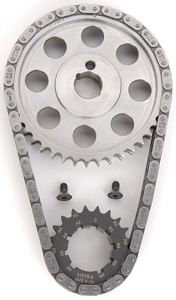 JEGS Performance Products 20440 - JEGS 9-Keyway Double-Roller Billet Timing Chain Sets