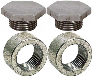 JEGS Performance Products 30747 - JEGS O2 Sensor Weld Fittings & Plugs