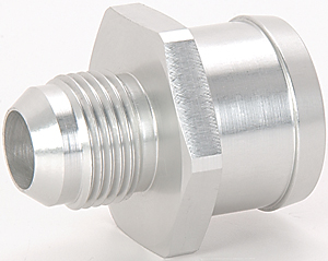Radiator Hose Fitting. JEGS 53087 & JEGS 53087: -12AN to 1-1/2 in. Radiator Hose Fitting | JEGS