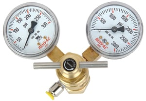 JEGS Performance Products 60200 - JEGS CO2 Pressur Regulator with Dual Gauges