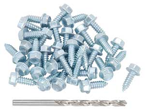 JEGS Performance Products 65042 - JEGS Wheel/Rim to Tire Screw Kit