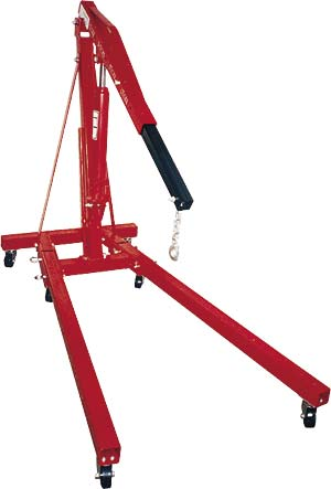 JEGS Performance Products 80045K - JEGS 1/2 to 2-Ton Engine Hoist