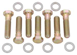 JEGS Automatic Transmission-to-Block Bolt Set Chevy or BOP Powerglide &  TH350/TH400/700R4