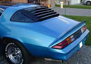 Astra Hammond 10514 Rear Window Louver 1967 69 Camaro Z28