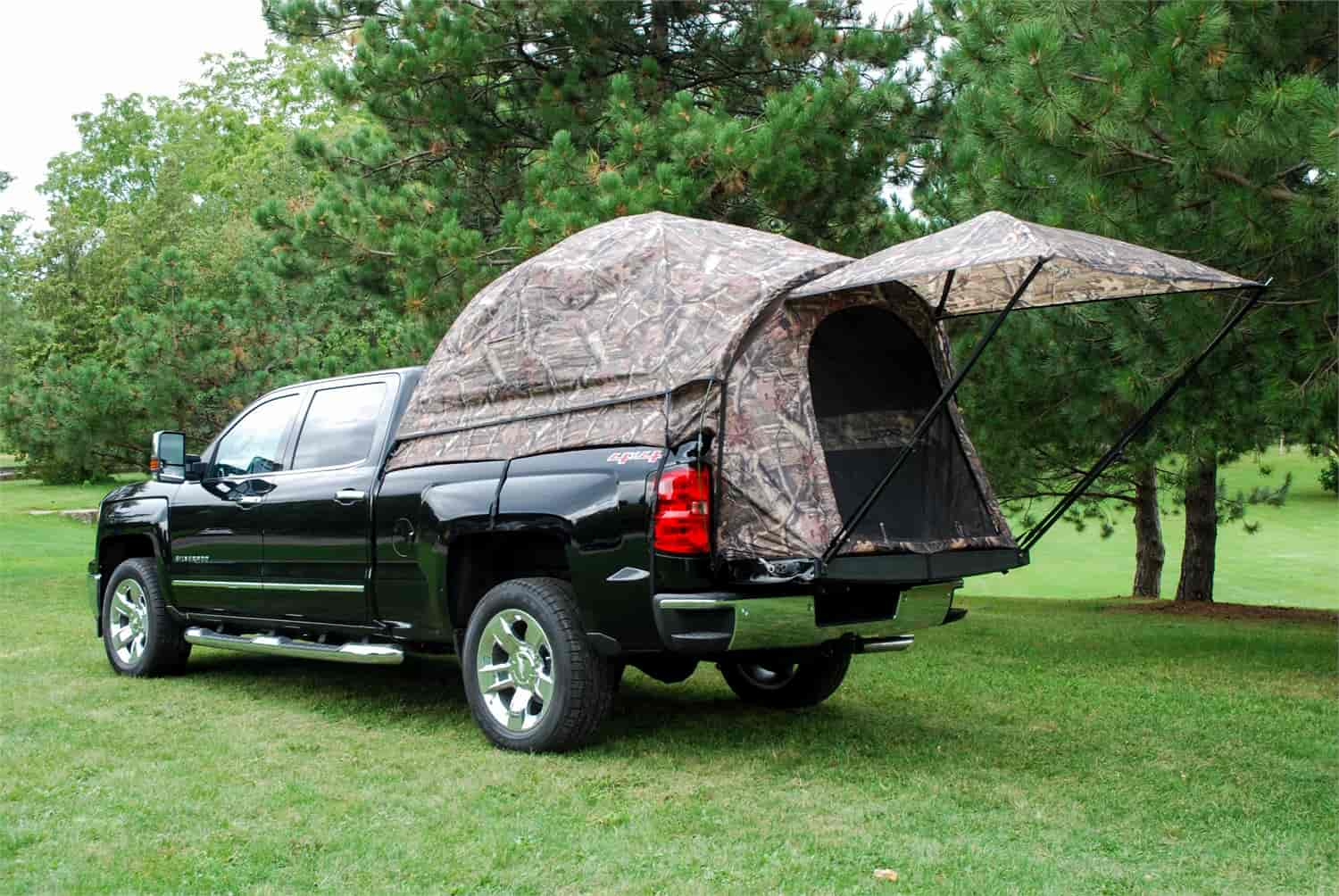 napier 57122 sportz camo 57 series truck tent for 6 4 39 6 7 39 bed jegs. Black Bedroom Furniture Sets. Home Design Ideas