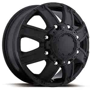 Ultra Wheel 024-7692RB - Ultra 024 Series Black Gauntlet Dually Wheels