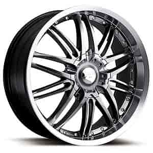 Ultra Wheel 200-7719HB - Ultra 200 Apex Platinum Series Hyper Black FWD Wheels