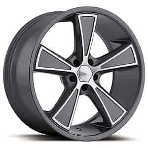 Ultra Wheel 431-2166G+45 - Ultra 431 Hustler Anthracite Grey RWD Wheels