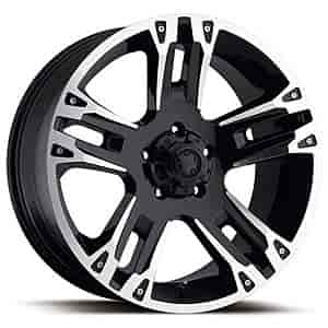 Ultra Wheel 234-7883B - Ultra Motorsports 234/235 Maverick Gloss Black RWD Wheels