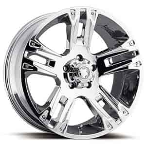 Ultra Wheel 235-6887C - Ultra 234/235 Maverick Chrome RWD Wheels
