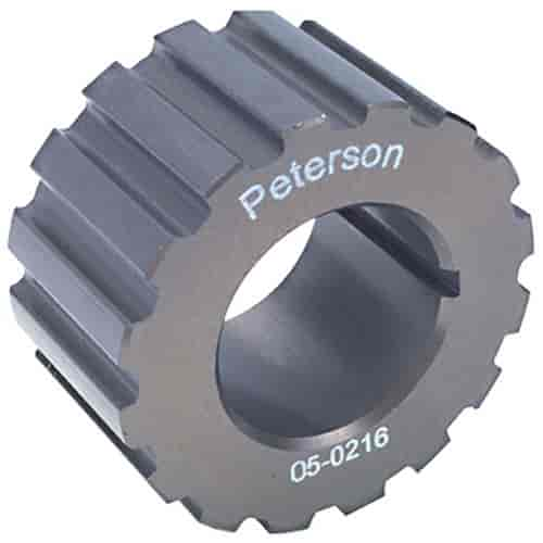 Peterson Fluid Systems 06-0221 - Peterson HTD, Gilmer and V-Belt Pulleys