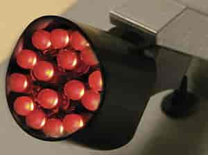 Lokar 1110157 - Lokar Billet Aluminum Safety LED Taillight