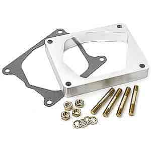Lokar TCB-40ED - Lokar Billet Aluminum Throttle/Kickdown Bracket & Spacer Kit for Edelbrock Pro-Flo EFI