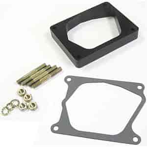 Lokar XTCB-40ED - Lokar Billet Aluminum Throttle/Kickdown Bracket & Spacer Kit for Edelbrock Pro-Flo EFI