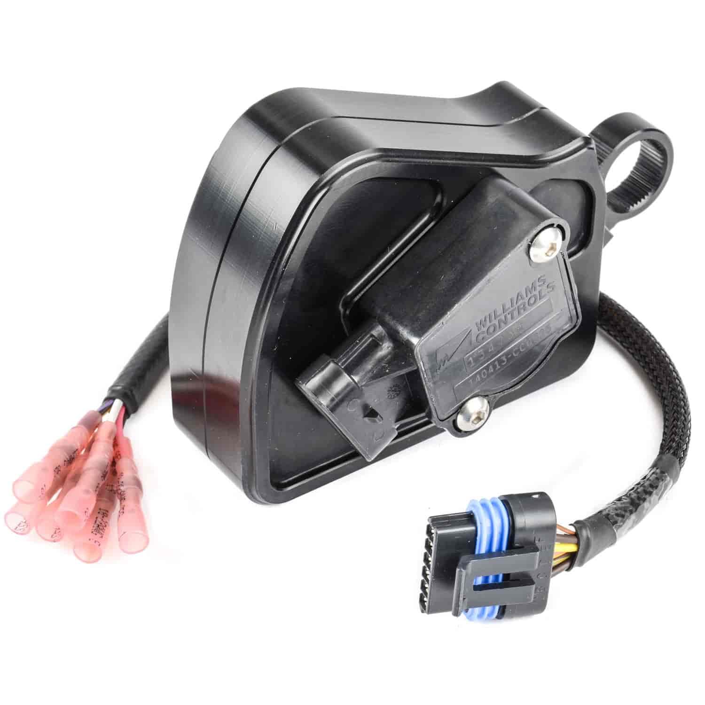 lokar xbdbwmopar01 billet drive by wire electronic throttle control w harness mopar jegs