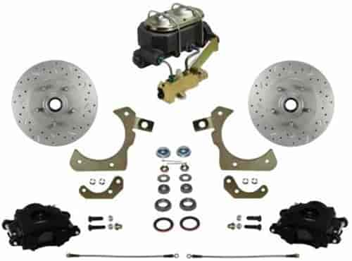 Leed Brakes RFC1010K1A1X Front Disc Brake Kit w/ Factory