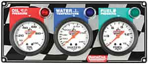 QuickCar Racing 61-6012 - QuickCar Racing Products Gauge Panels - QuickCar