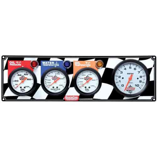 QuickCar Racing 61-60413 - QuickCar Racing Products Gauge Panels - QuickCar