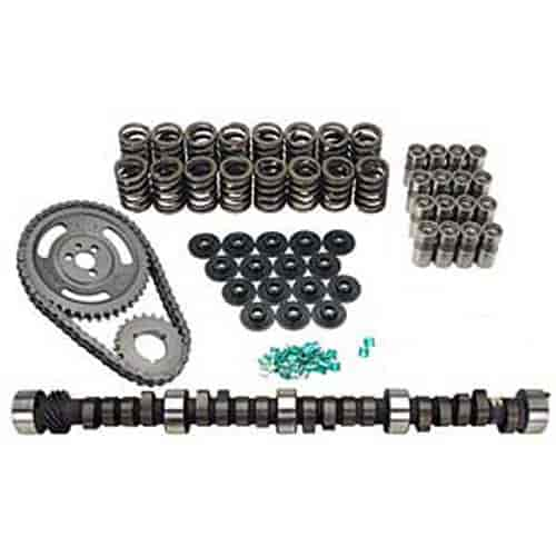 Lunati Voodoo Hydraulic Flat Tappet Camshaft Complete Kit Chevy Small Block  262-400 Lift:  489