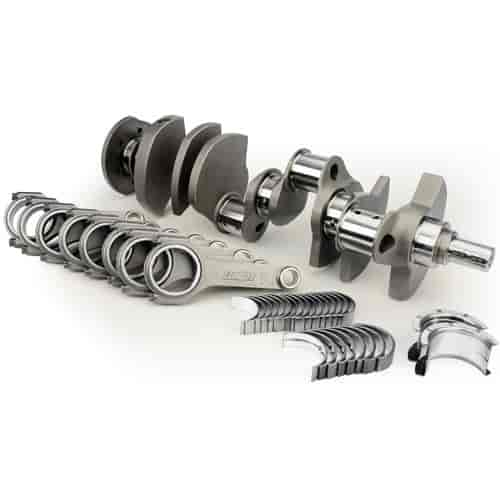 Lunati Voodoo 383 Stroker Crankshaft and Connecting Rod Kit Small Block  Chevy