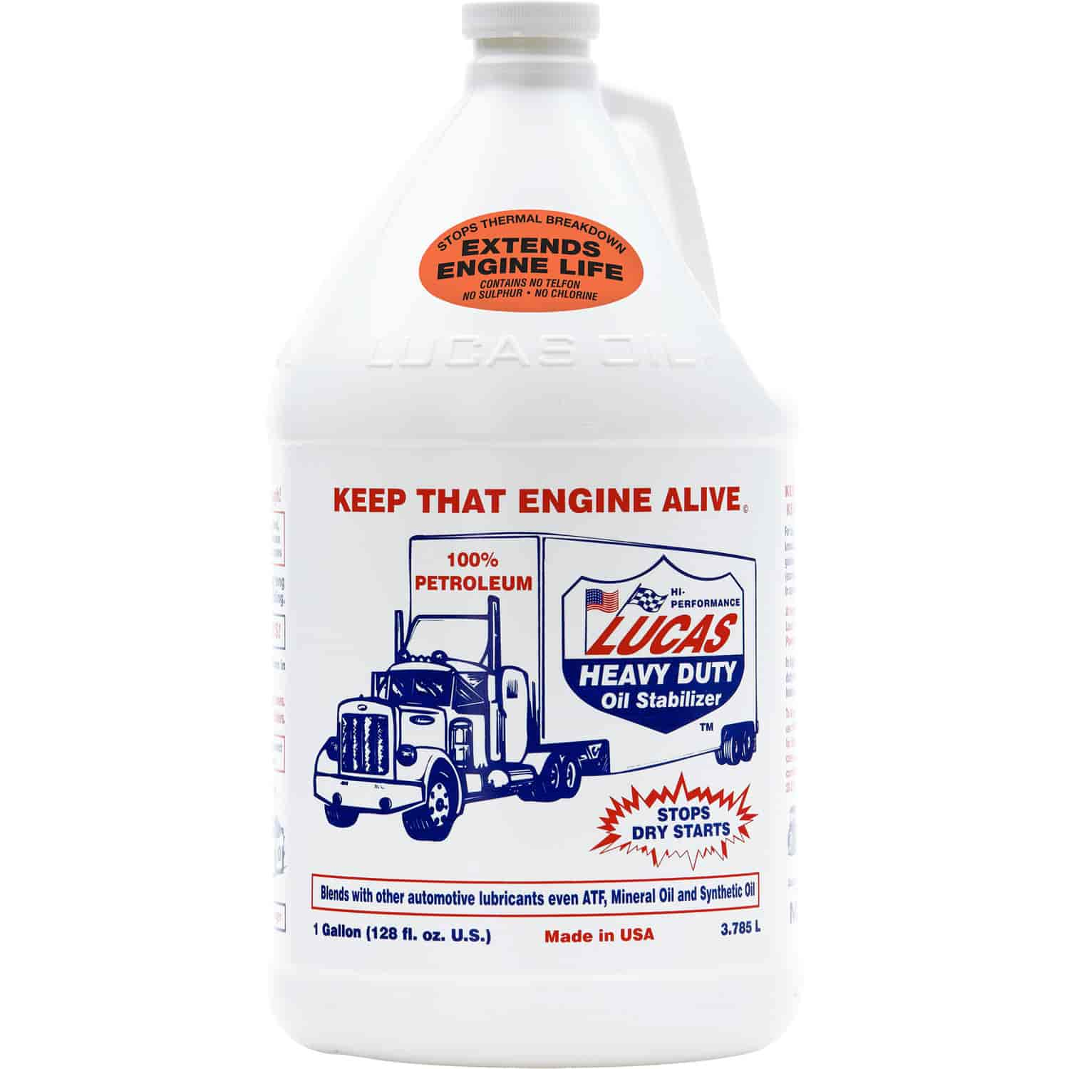 Lucas Oil 10002 - Lucas Heavy Duty Oil Stabilizer
