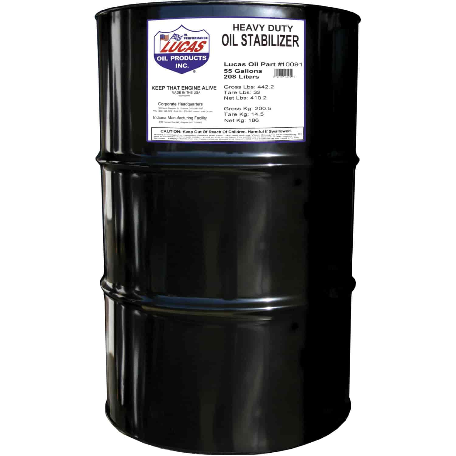 Heavy Equipment Oil Leaks : Lucas oil heavy duty stabilizer gal