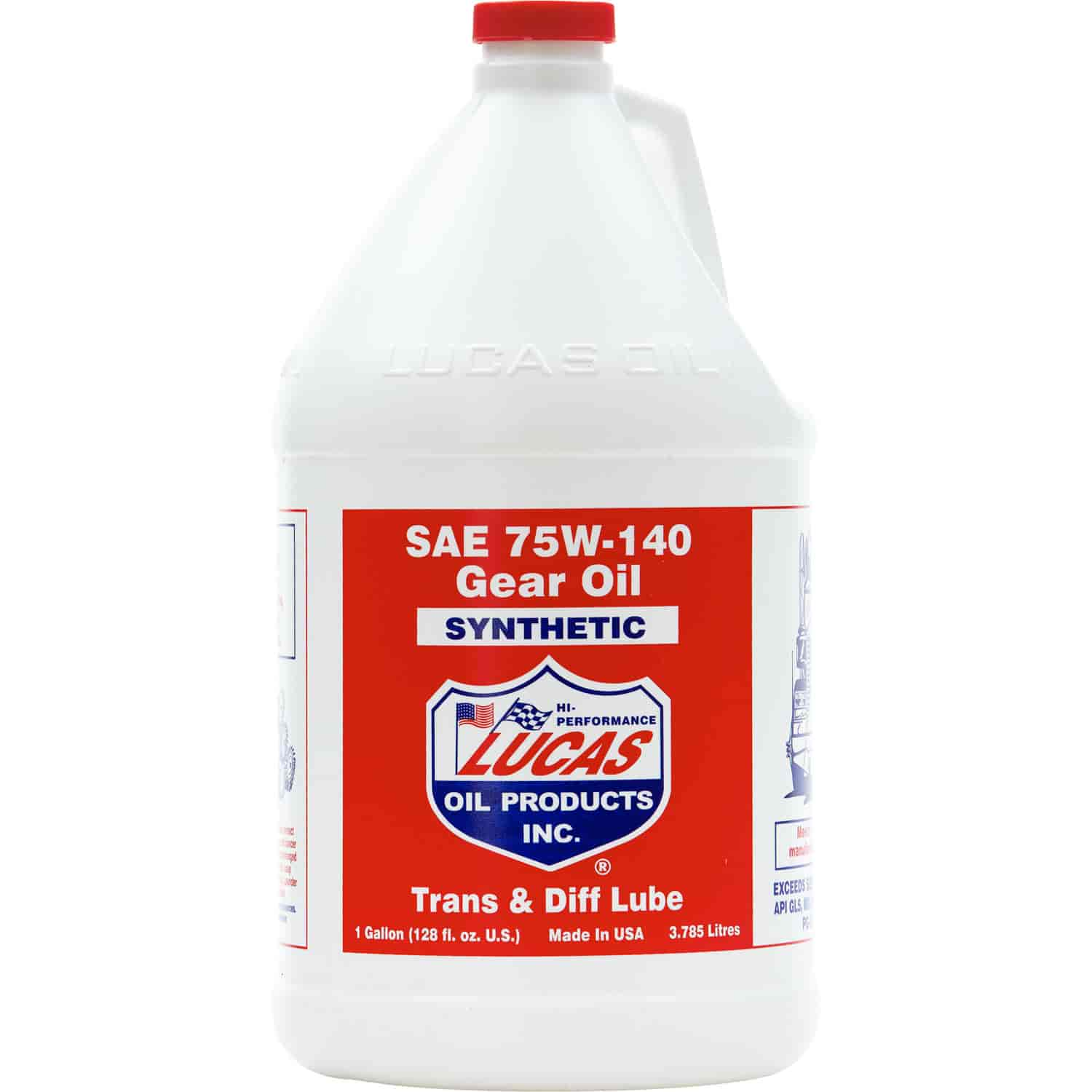 Lucas Oil 10122 - Lucas Synthetic Gear Oil