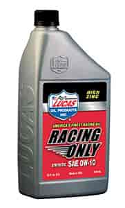 Lucas Oil 10286 - Lucas Oil Racing Only High Performance Motor Oils