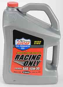 Lucas Oil 10611 - Lucas Oil Racing Only High Performance Motor Oils