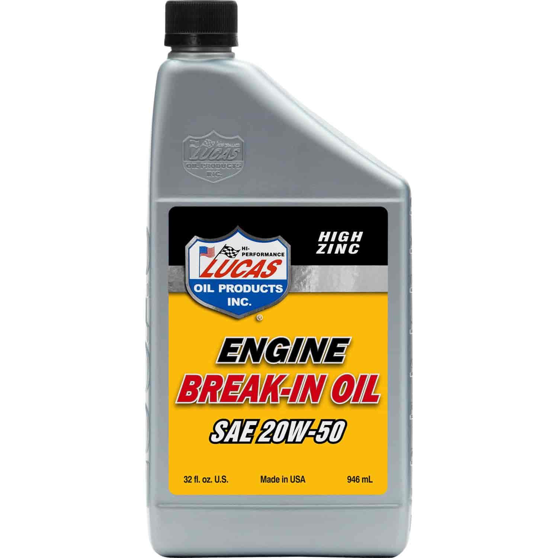 Lucas Oil 10635 Lucas Oil High Zinc Engine Break In Oils