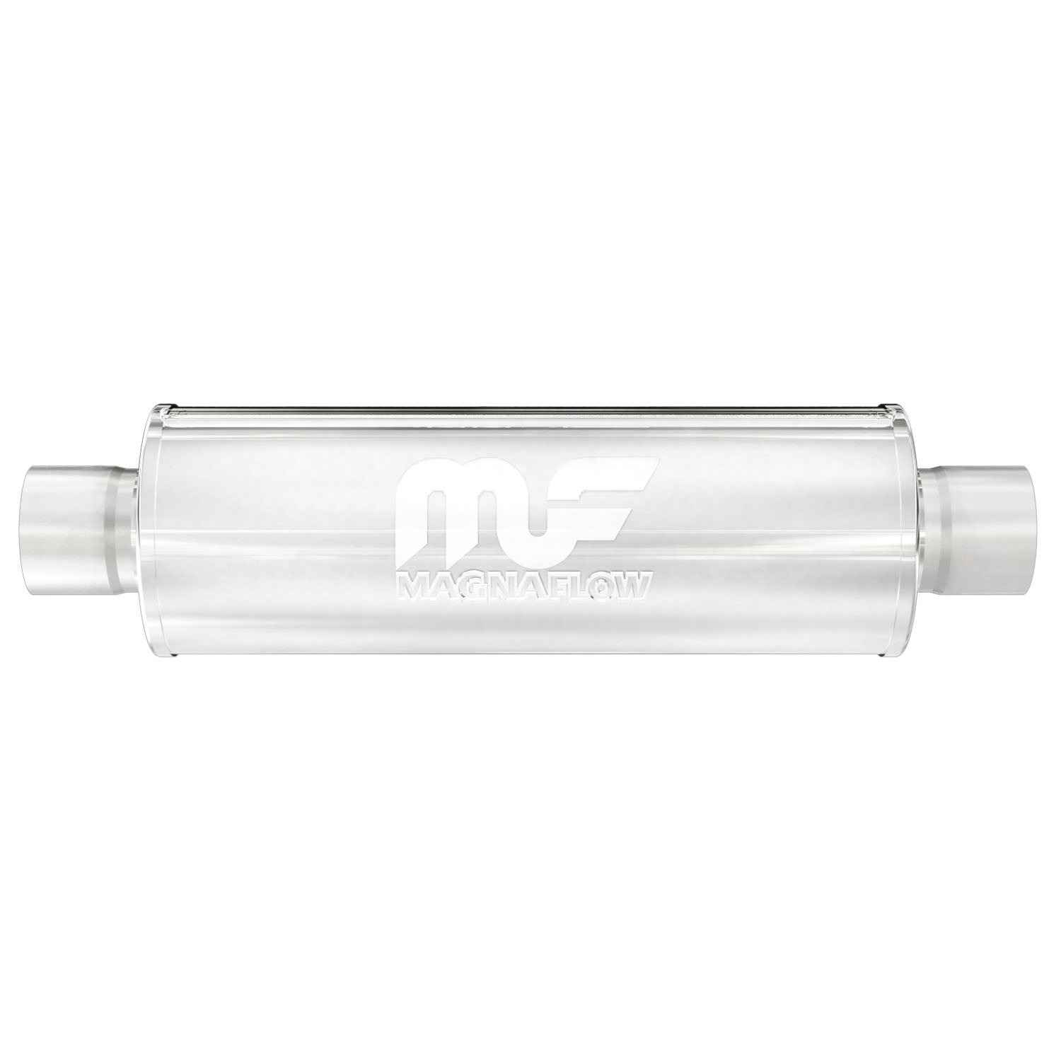 """MagnaFlow 10414 Muffler 2/"""" Inlet 2/"""" Outlet Stainless Steel"""