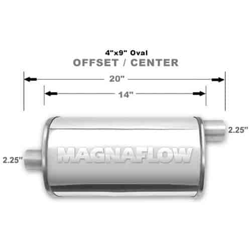 Magnaflow 14325 - Magnaflow Polished Stainless Steel Mufflers