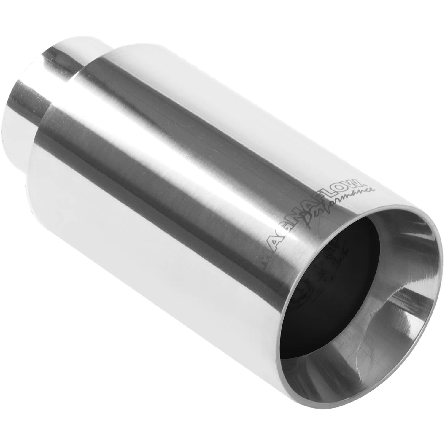 Magnaflow 35124 - Magnaflow Polished Stainless Steel Weld-On Single Exhaust Tips